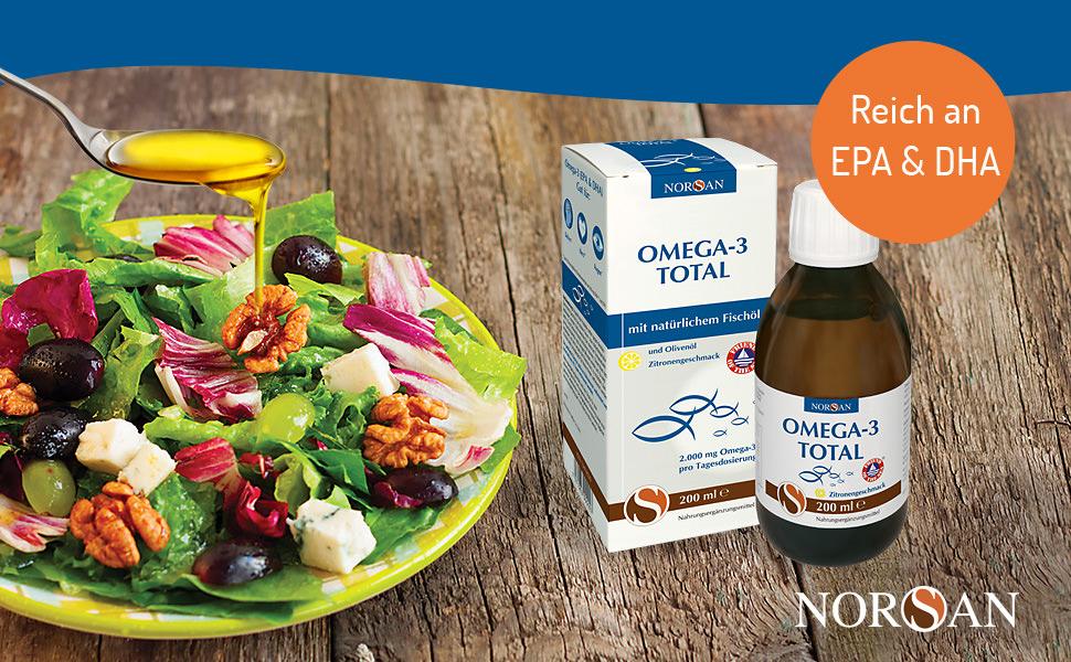 NORSAN Omega-3 Total Zitronengeschmack