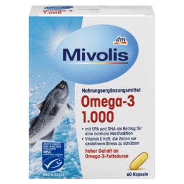 DM Mivolis Omega-3 Kapseln