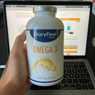 GloryFeel Omega 3 Fischöl Präparat