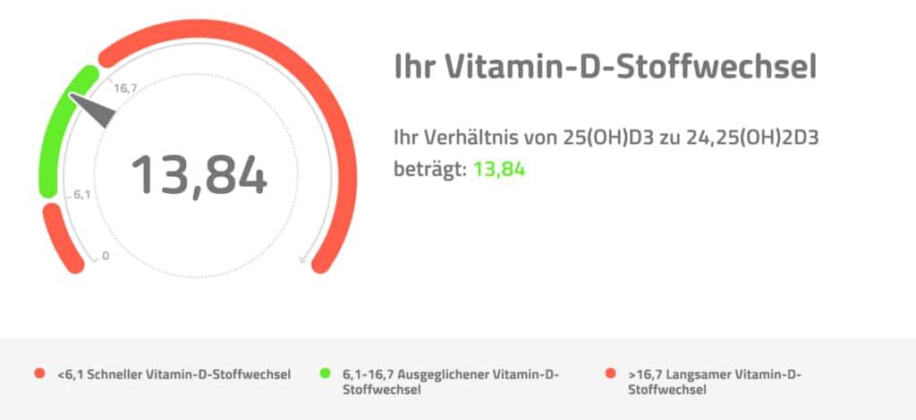 Vitamin-D-Stoffwechsel Februar 2021