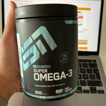 ESN Super Omega 3 Fischölkapseln Test & Vergleich