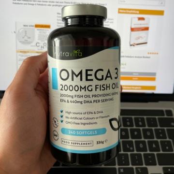 Nutravita Omega 3 Test & Vergleich